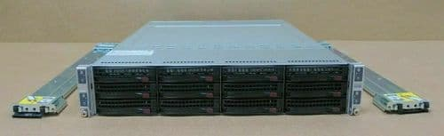 Supermicro A+ 2022TG-HIBQRF 4-Node Server 128 cores 2.3GHz 128GB Ram 2U Rack